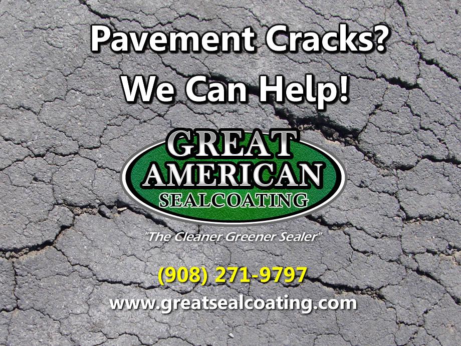 pavement crack repair | driveway crack repair in new jersey | nj asphalt crack repair