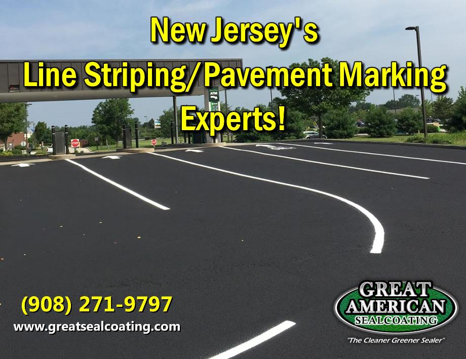 new jersey sealcoating | line striping | pavement marking | asphalt sealing