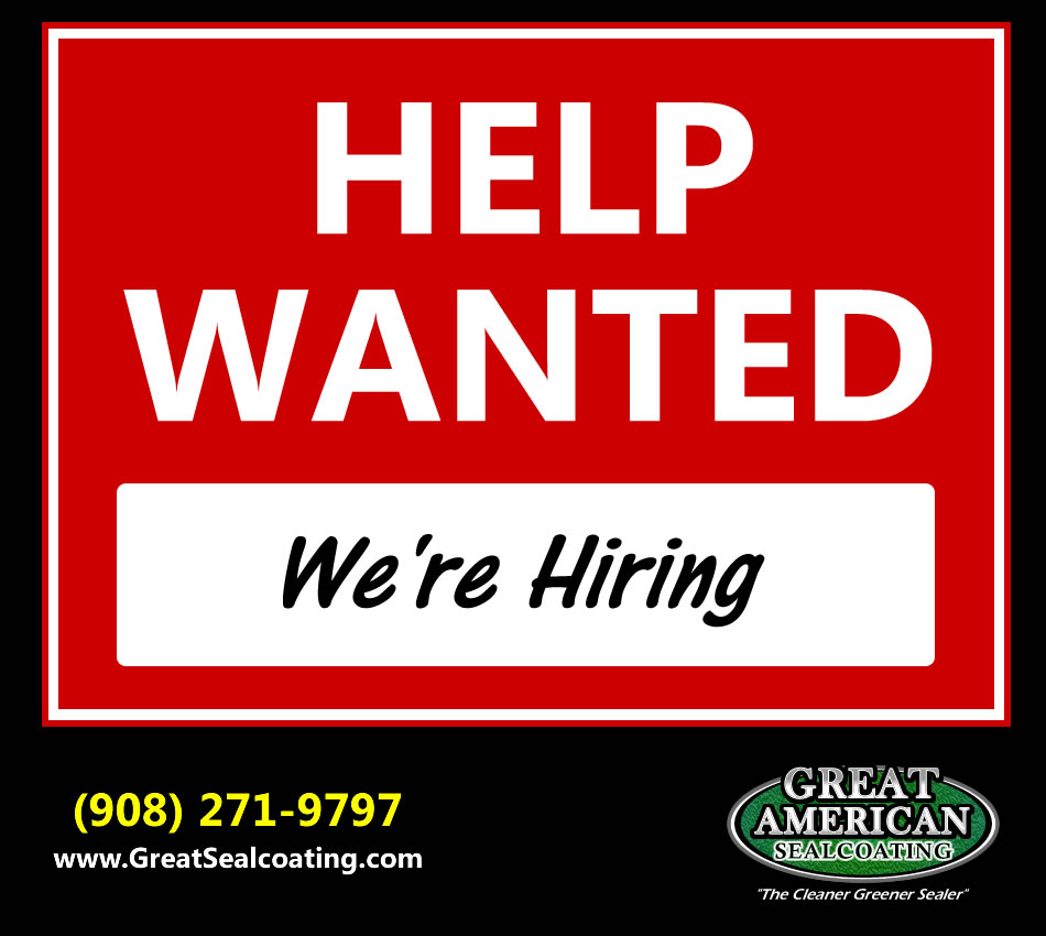 great american sealcoating of nj is now hiring