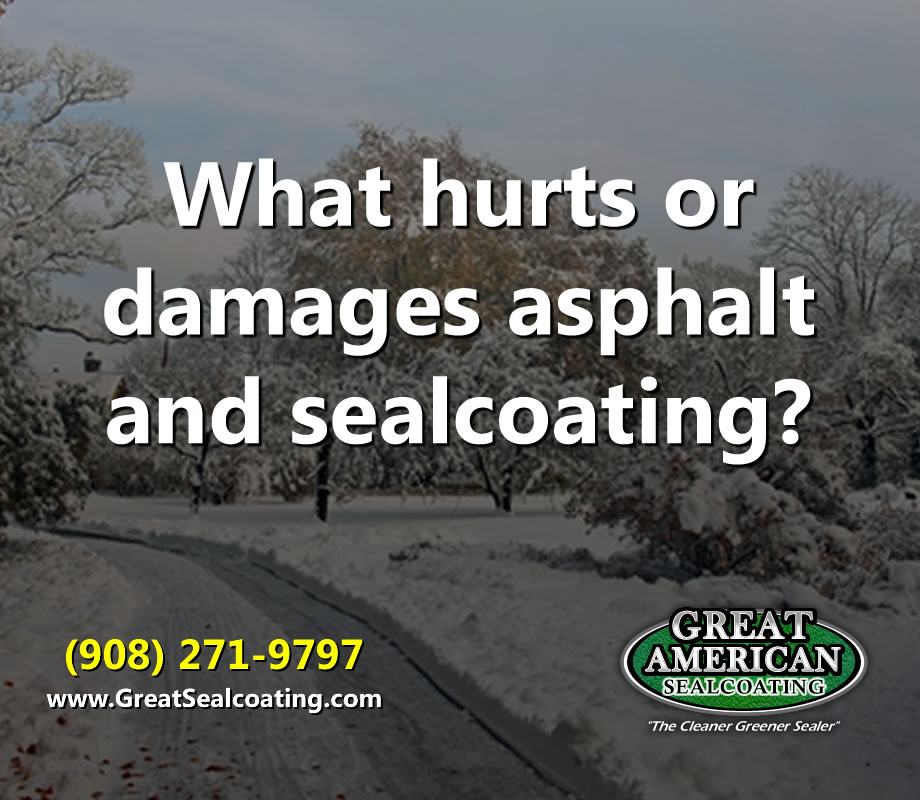 asphalt damage | sealcoating repair