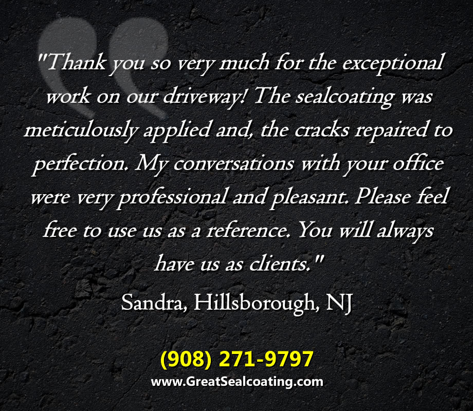 Great American Sealcoating | Our Satisfied Customers